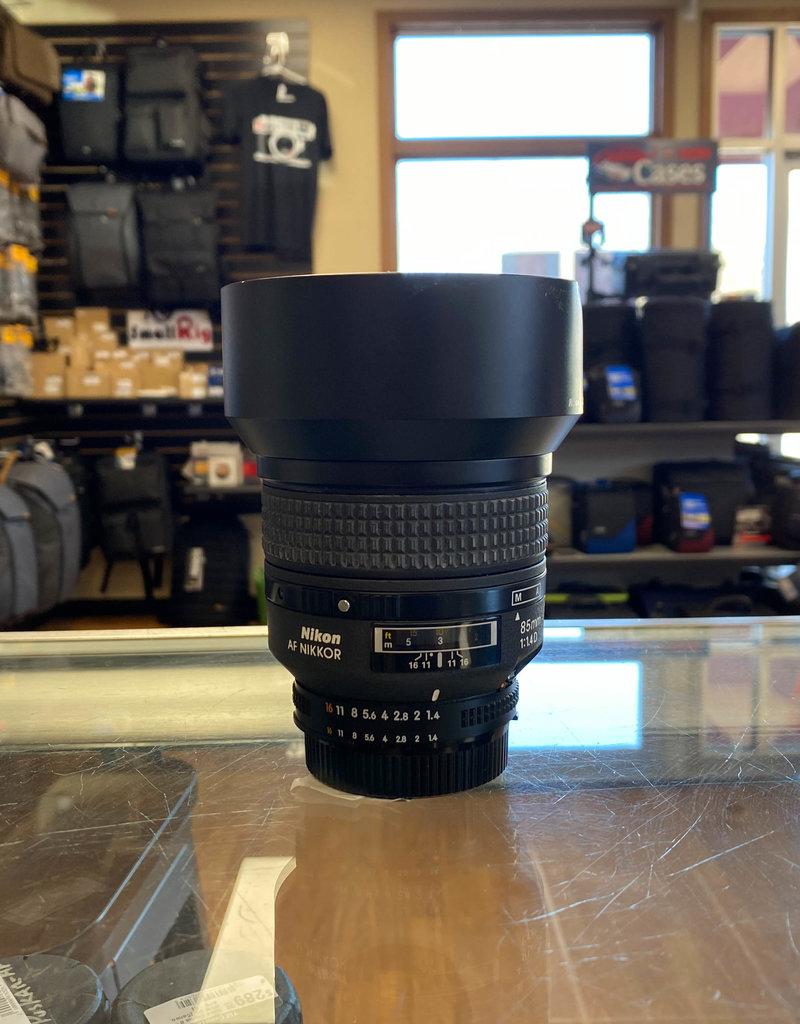 Used Nikon AF 85mm 1.4 D