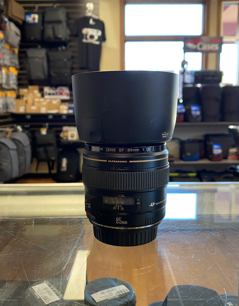 Used Canon 85mm 1.8