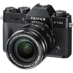 Fujifilm Fuji X-T20 18-55mm Kit (Black)