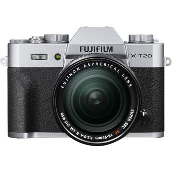 Fujifilm X-T20 18-55mm Kit Silver
