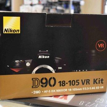 Used Nikon D90 18-105 vr kit