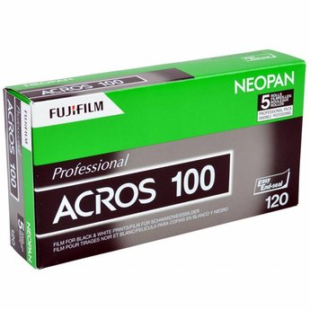 Fujifilm Neopan Acros 100 (120 film) 5 Pack