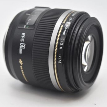 Used Canon EF-S 60mm 2.8 USM macro