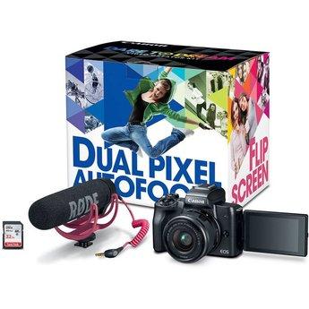 Canon EOS M50 w/ 15-45 Lens Creator Kit