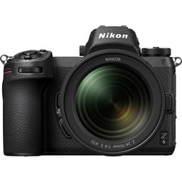 Nikon Z6 24-70mm f/4 Mirrorless Camera (Lens Kit)