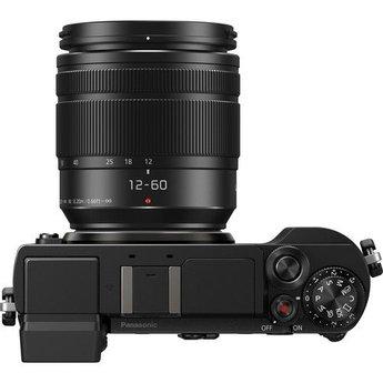Panasonic Panasonic Lumix DC-GX9 Mirrorless Micro Four Thirds Digital Camera with 12-60mm Lens (Black)