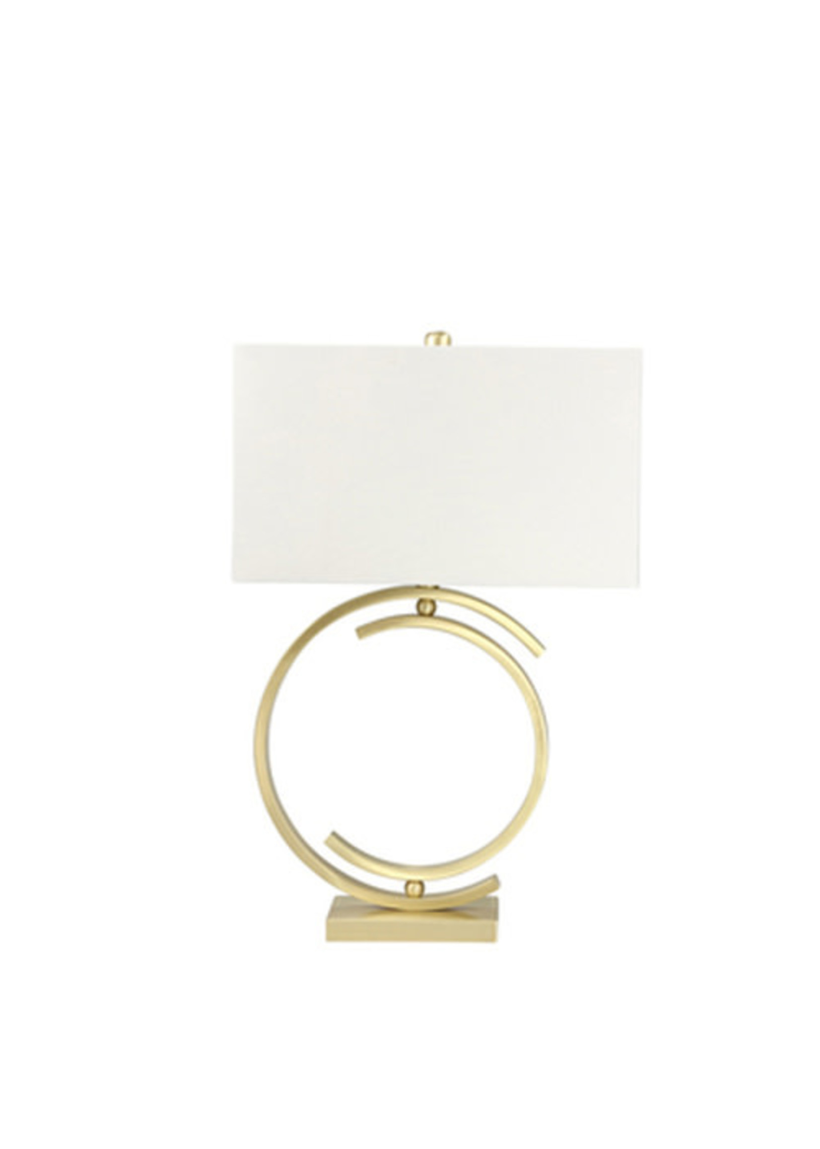 """Sagebrook Home 29"""" CC Brushed Gold Table Lamp"""