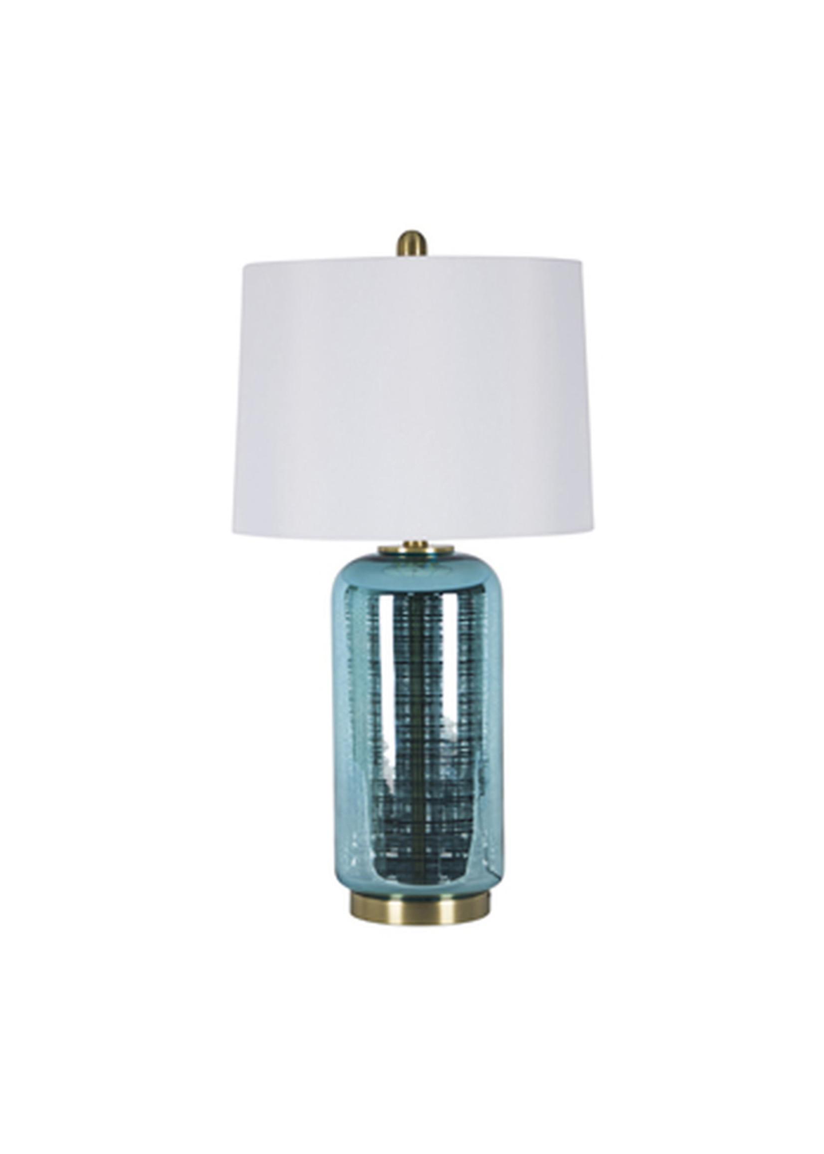 Sagebrook Home Jug Table Lamp Blue