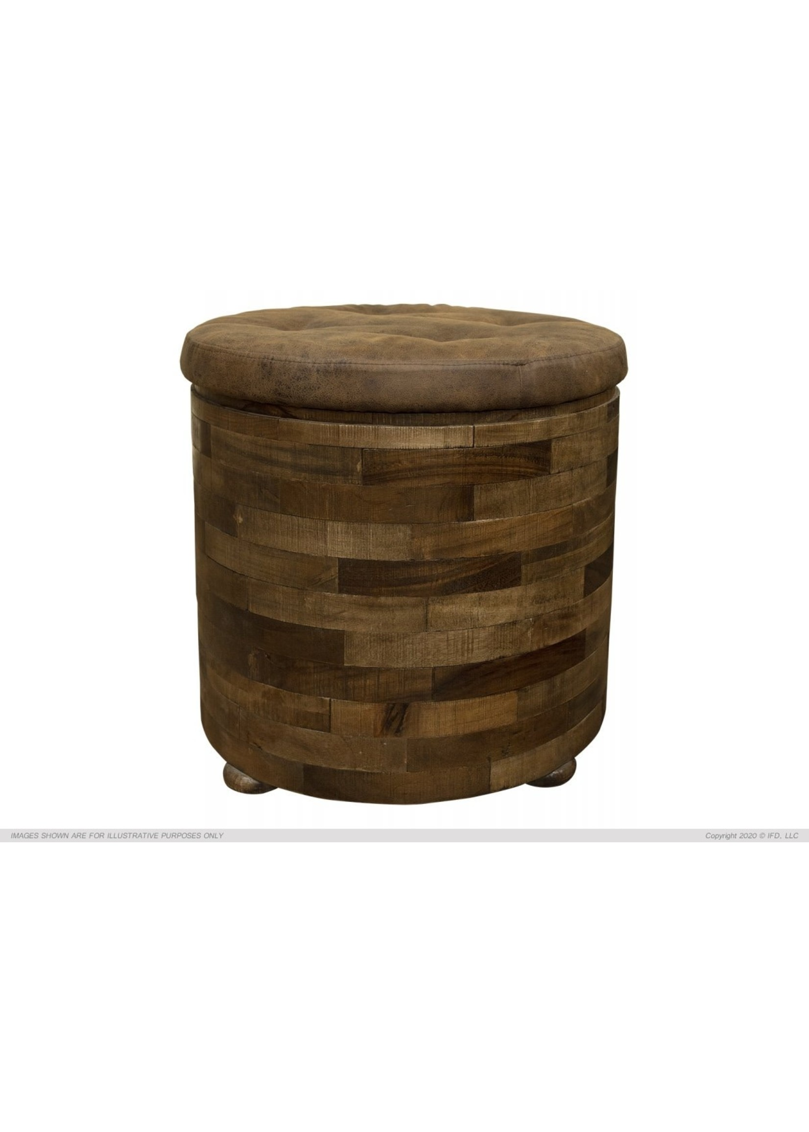International Furniture Direct IFD7861END IFD End Table Cushion Top