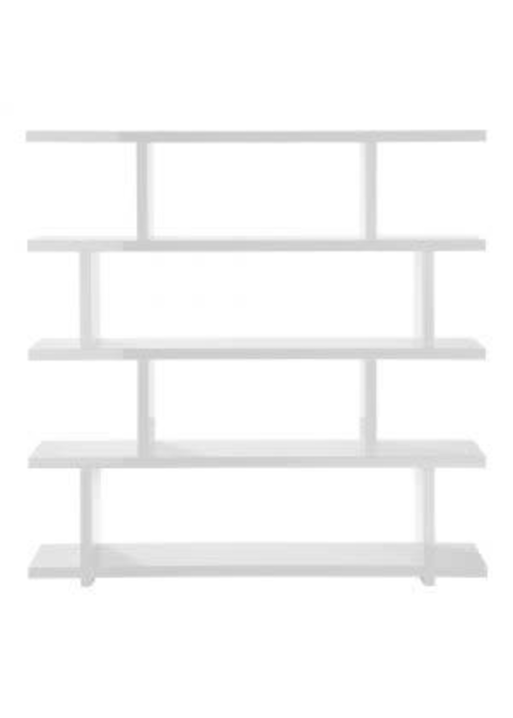 Moes Home Collection Miri Shelf Large White by MOES