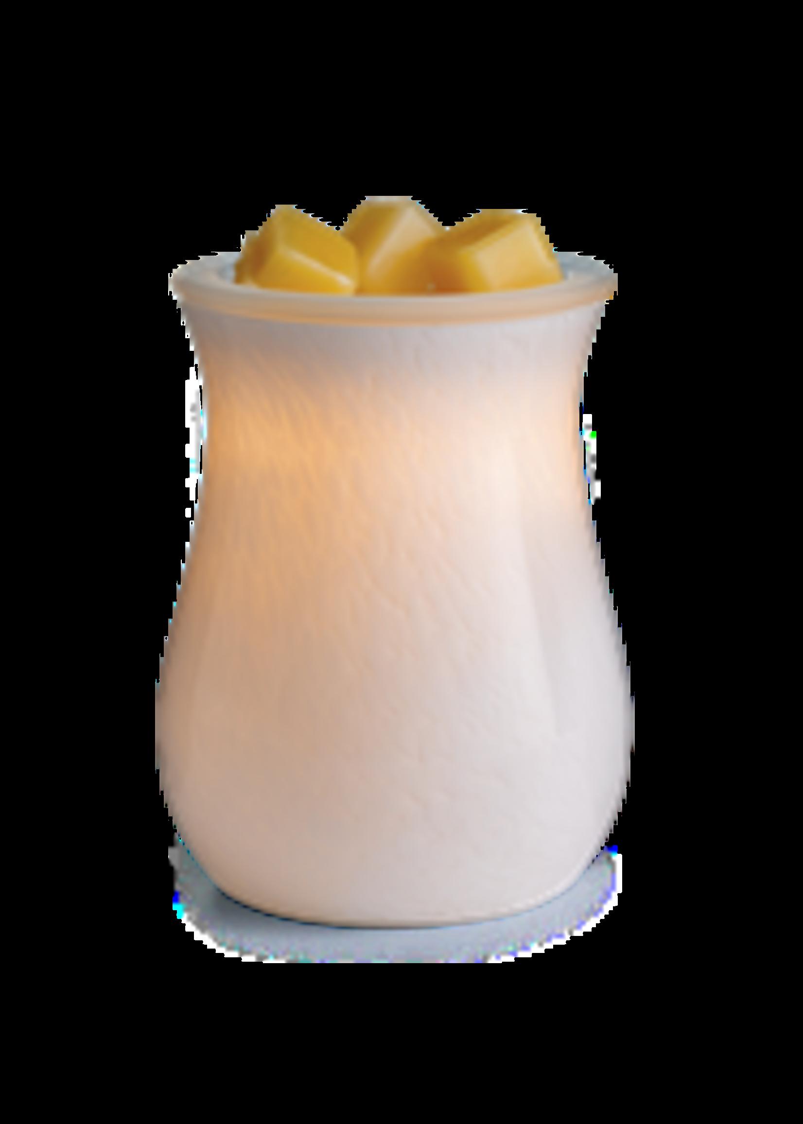Candles Warmers Etc Blown Glass Illumination Fragrance Warmer Moonstone