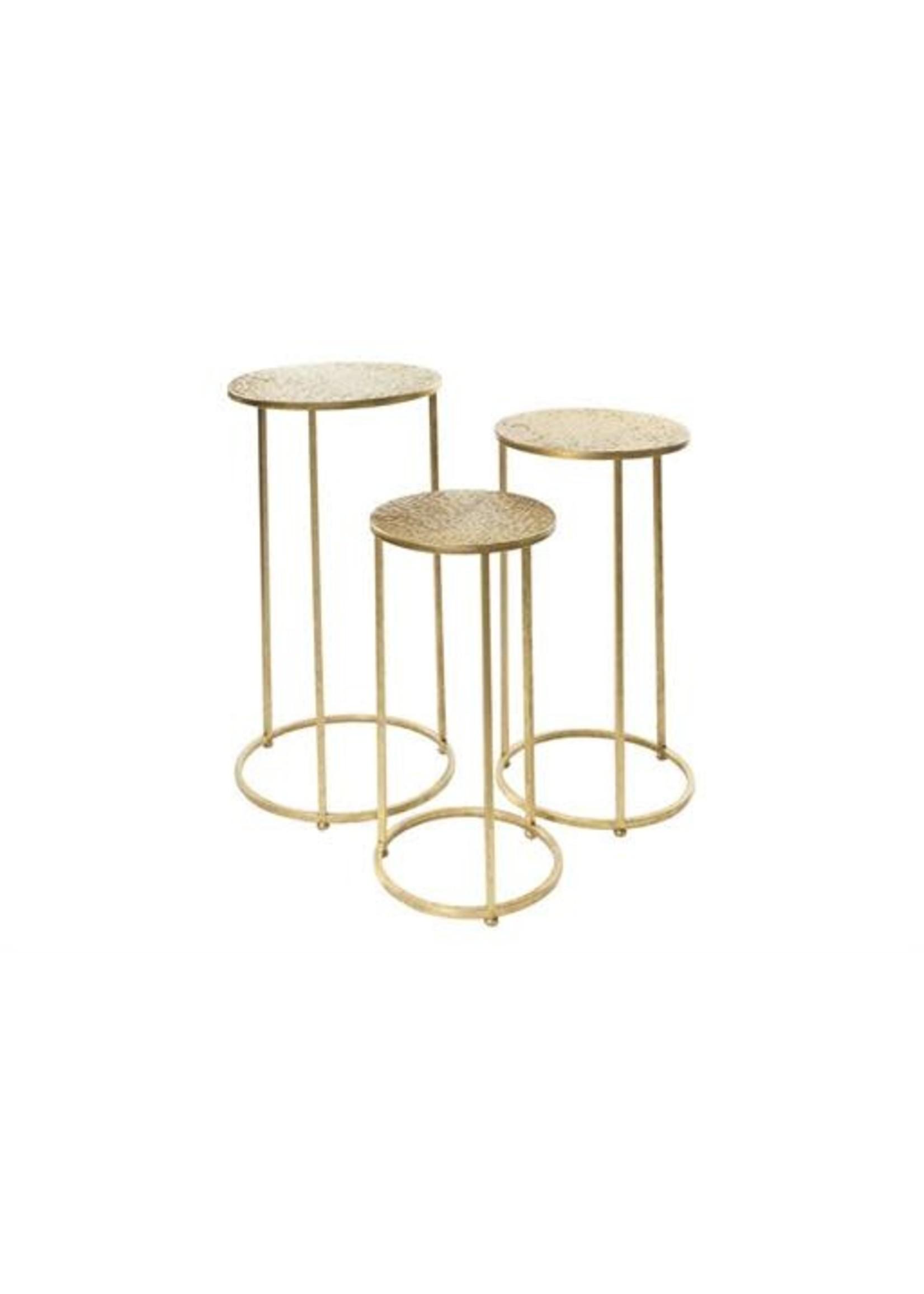 UMA Enterprises UMA INC  Metal Side Table SET/2