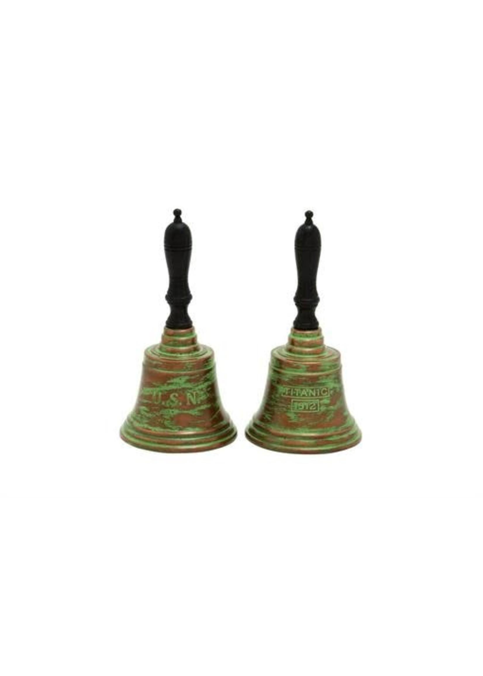 UMA Enterprises Metal Wood Bell 2 Asst