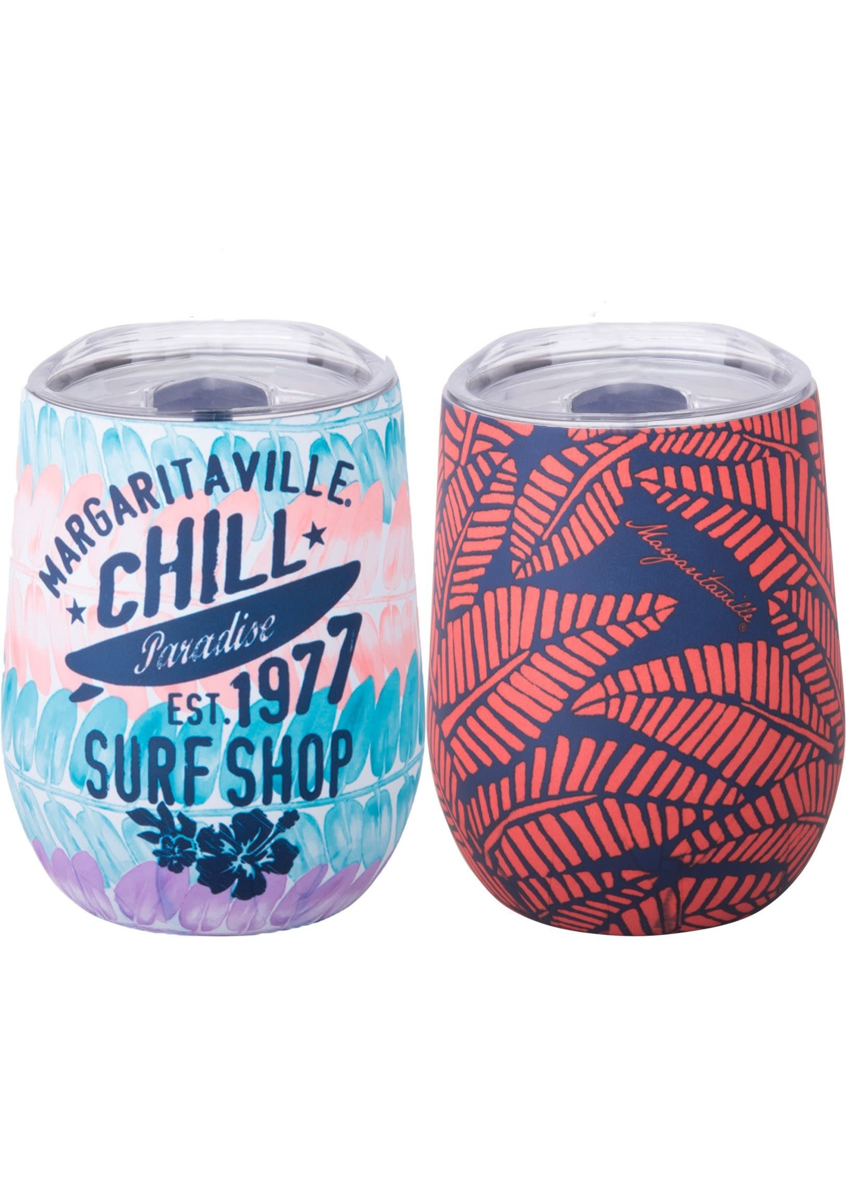 Home Essentials Margaritaville  Double Wall Insulated Stemless