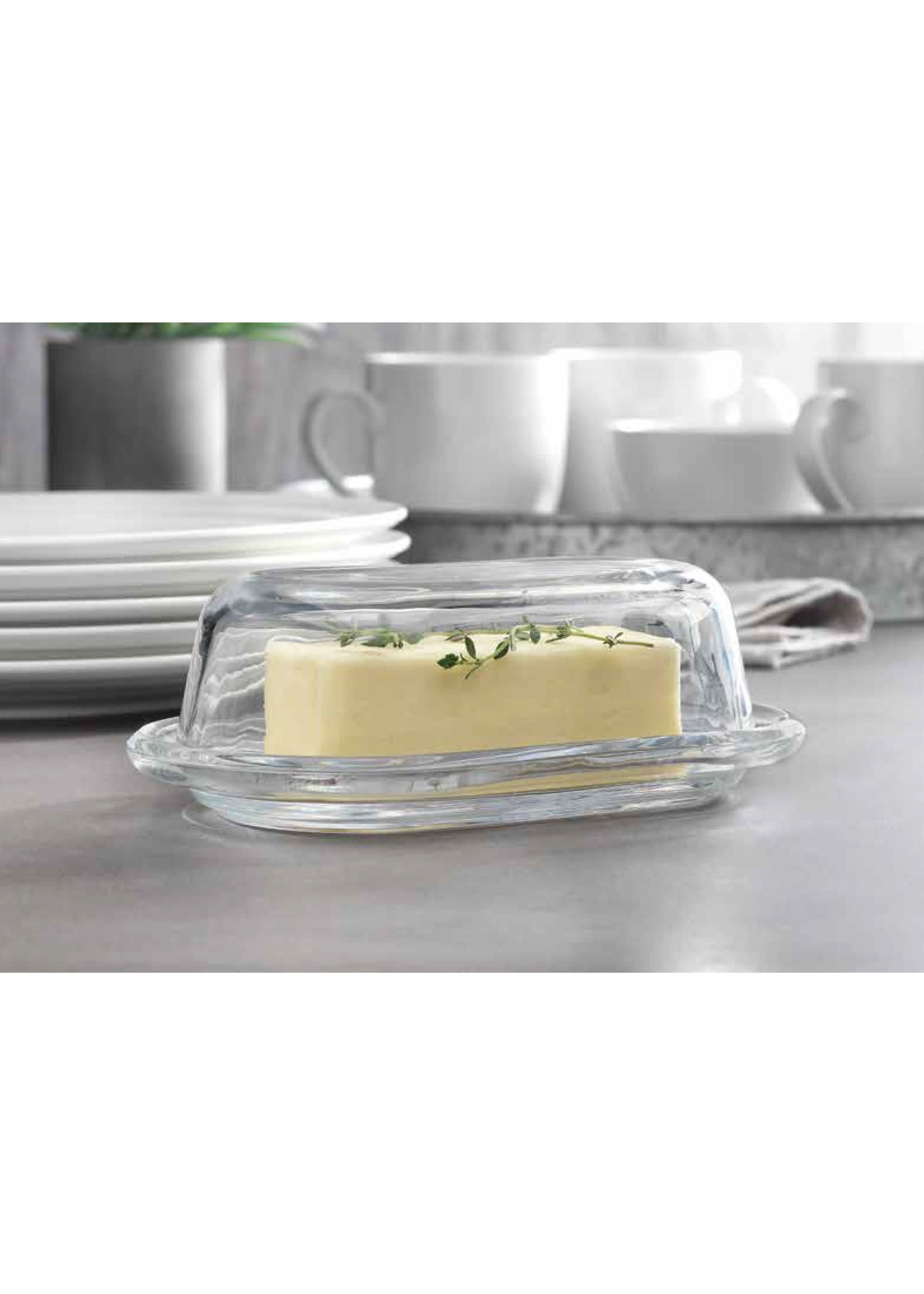 """Home Essentials Tablescape Oval Butter Dish 7"""""""