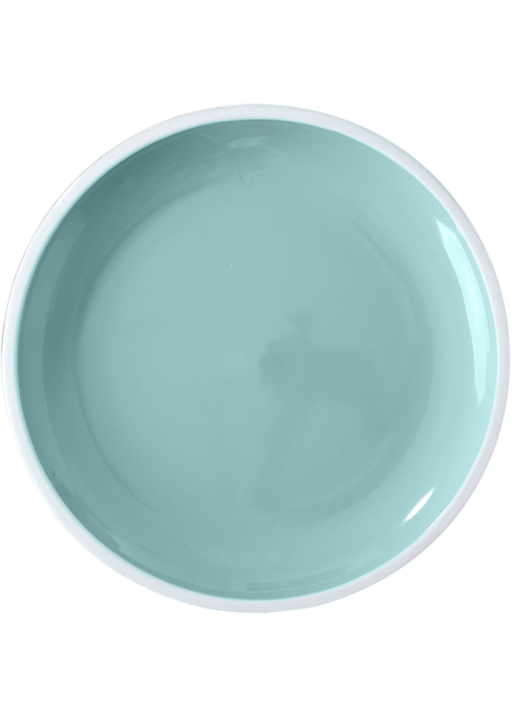 """Home Essentials Cupcake Collection Pastel Blue Dinner Plate 10.5""""D"""