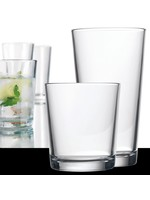 Home Essentials Alanya Clear 16 Piece Drinkware Set