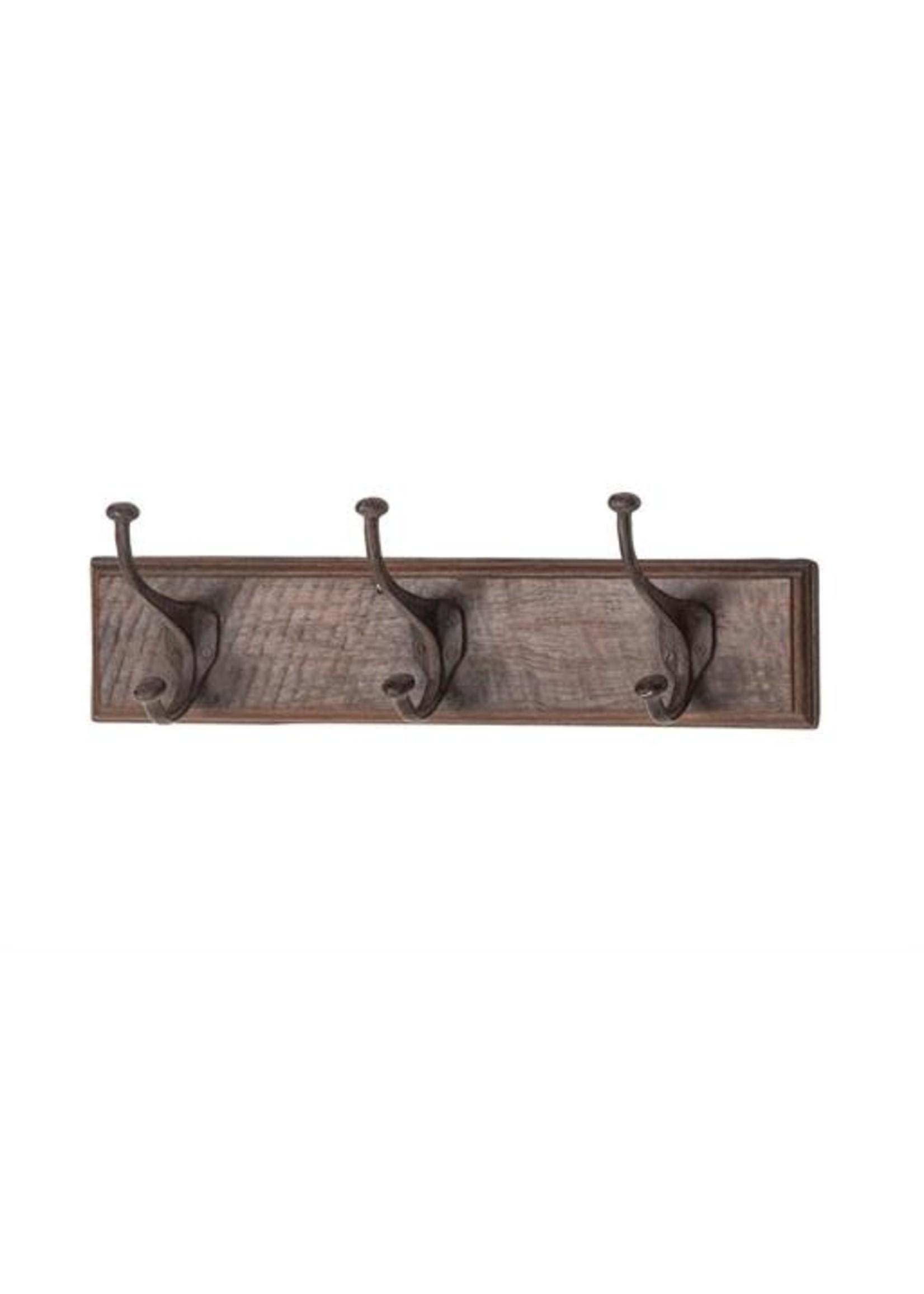 UMA Enterprises Wood Metal Coat Hook
