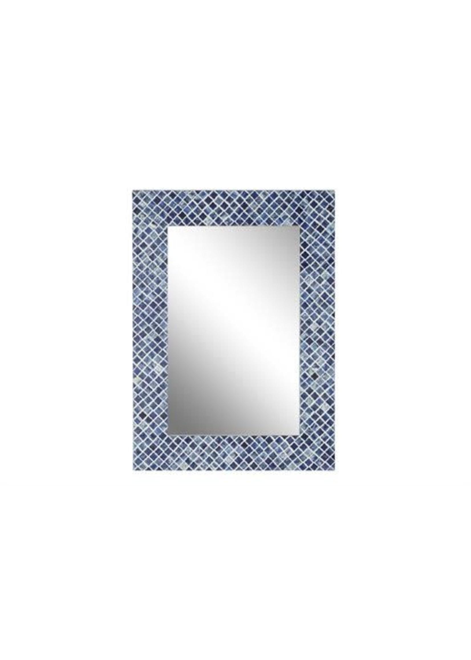 UMA Enterprises UMA Wood Bone Wall Mirror