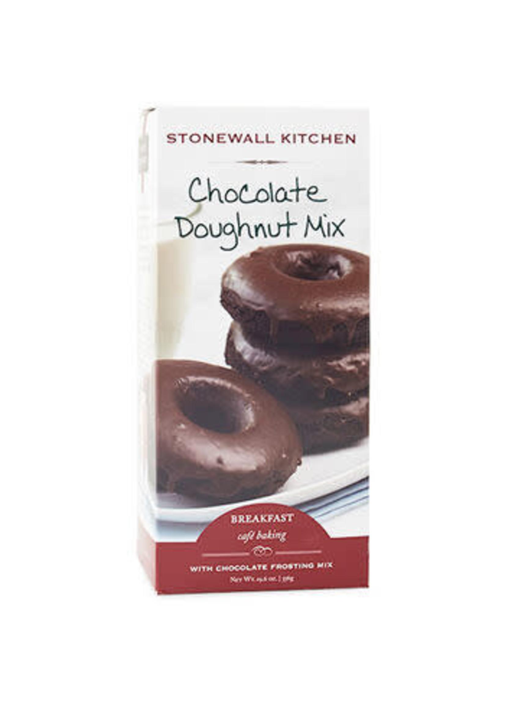 Stonewall Kitchen Chocolate Doughnut Mix w/Chocolate Frosting