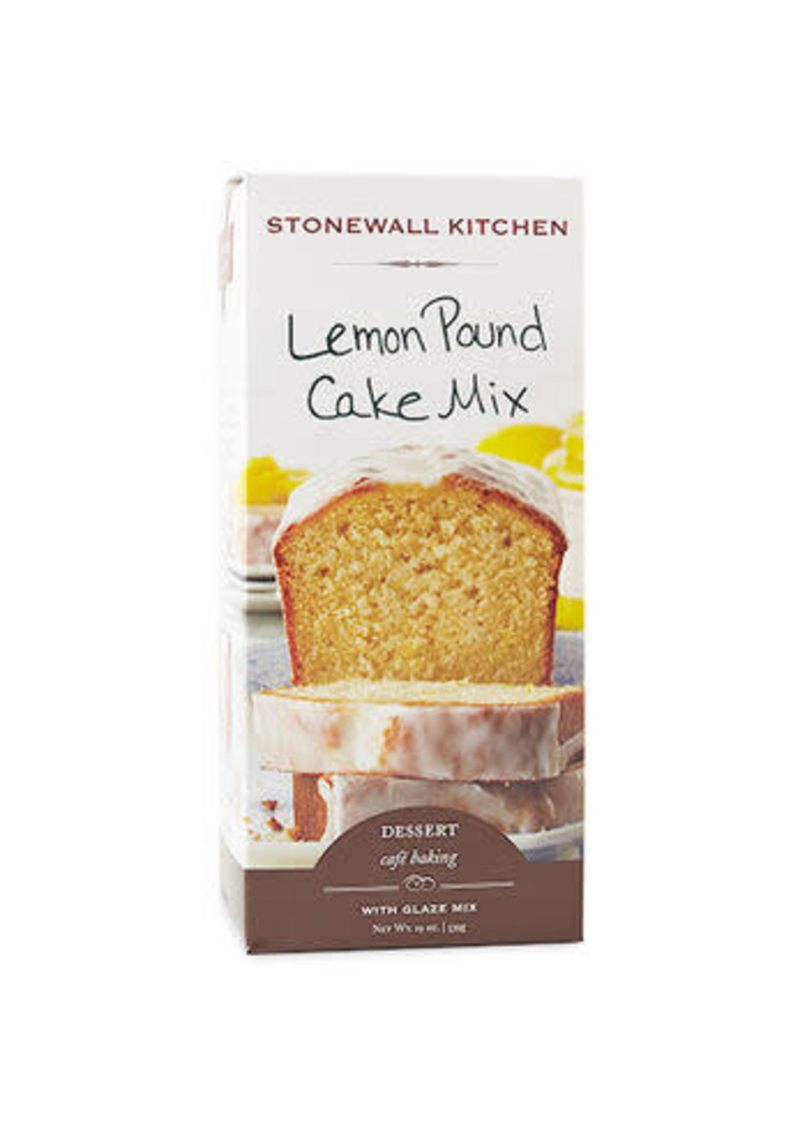 Stonewall Kitchen Lemon Pound Cake Mix w/Glaze