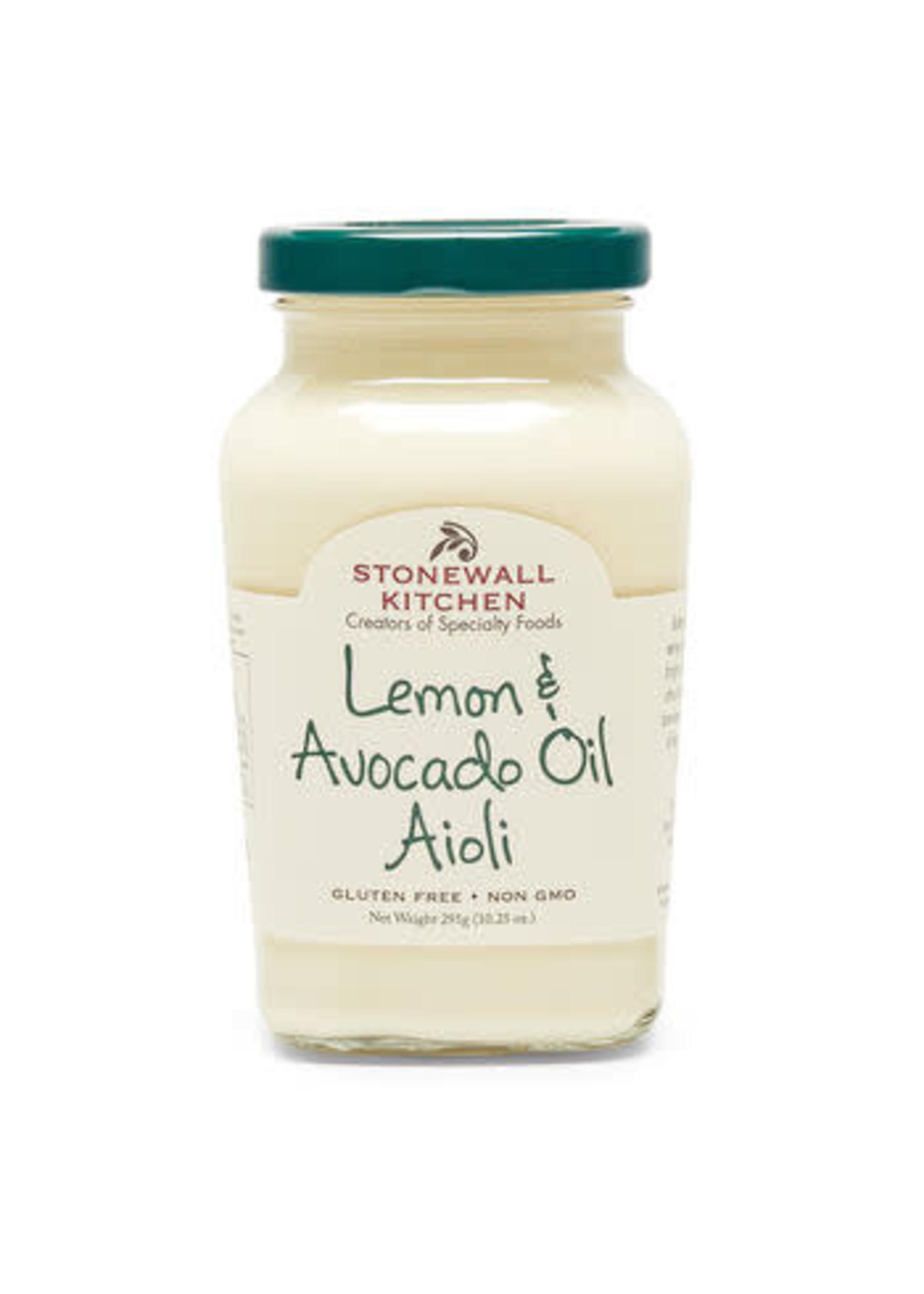 Stonewall Kitchen Lemon & Avocado Oil Aioli