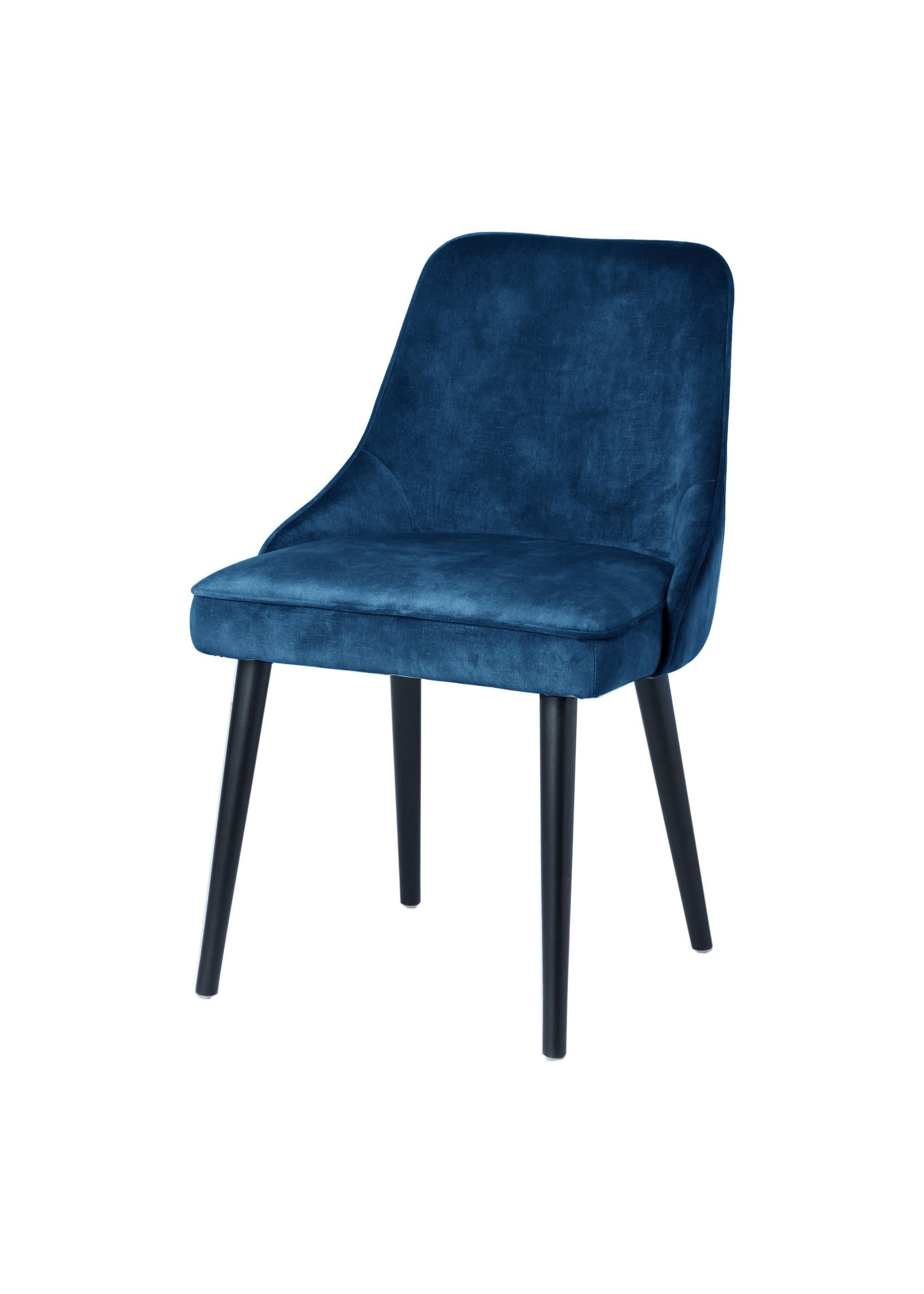Moes Home Collection MOE'S Harmony Dining Chair Navy Blue