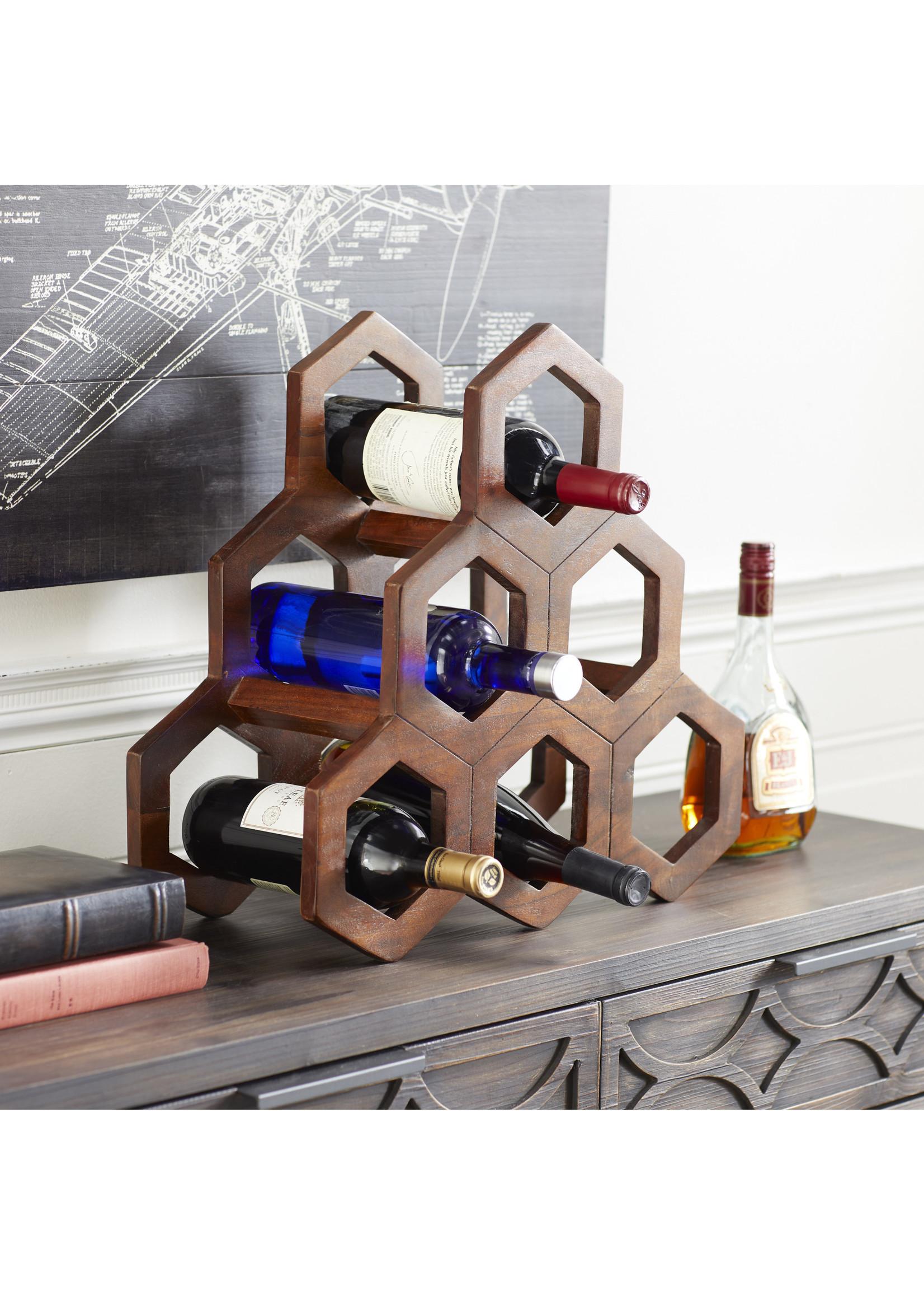 UMA Enterprises Wood Wine Rack