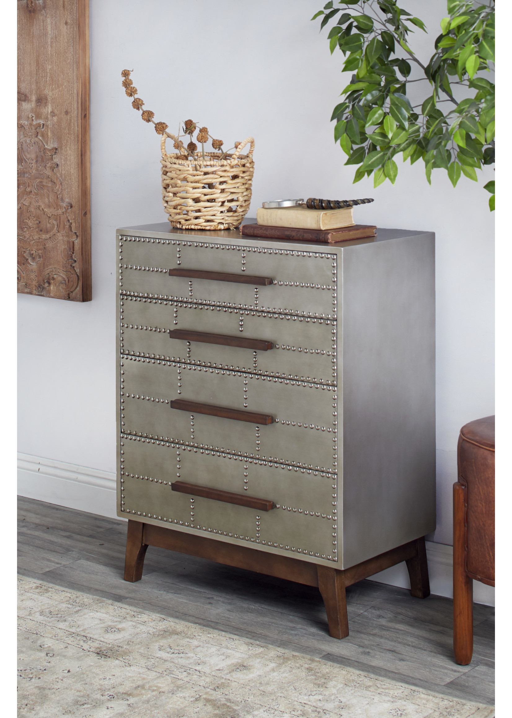 UMA Enterprises Wood Drawer Cabinet