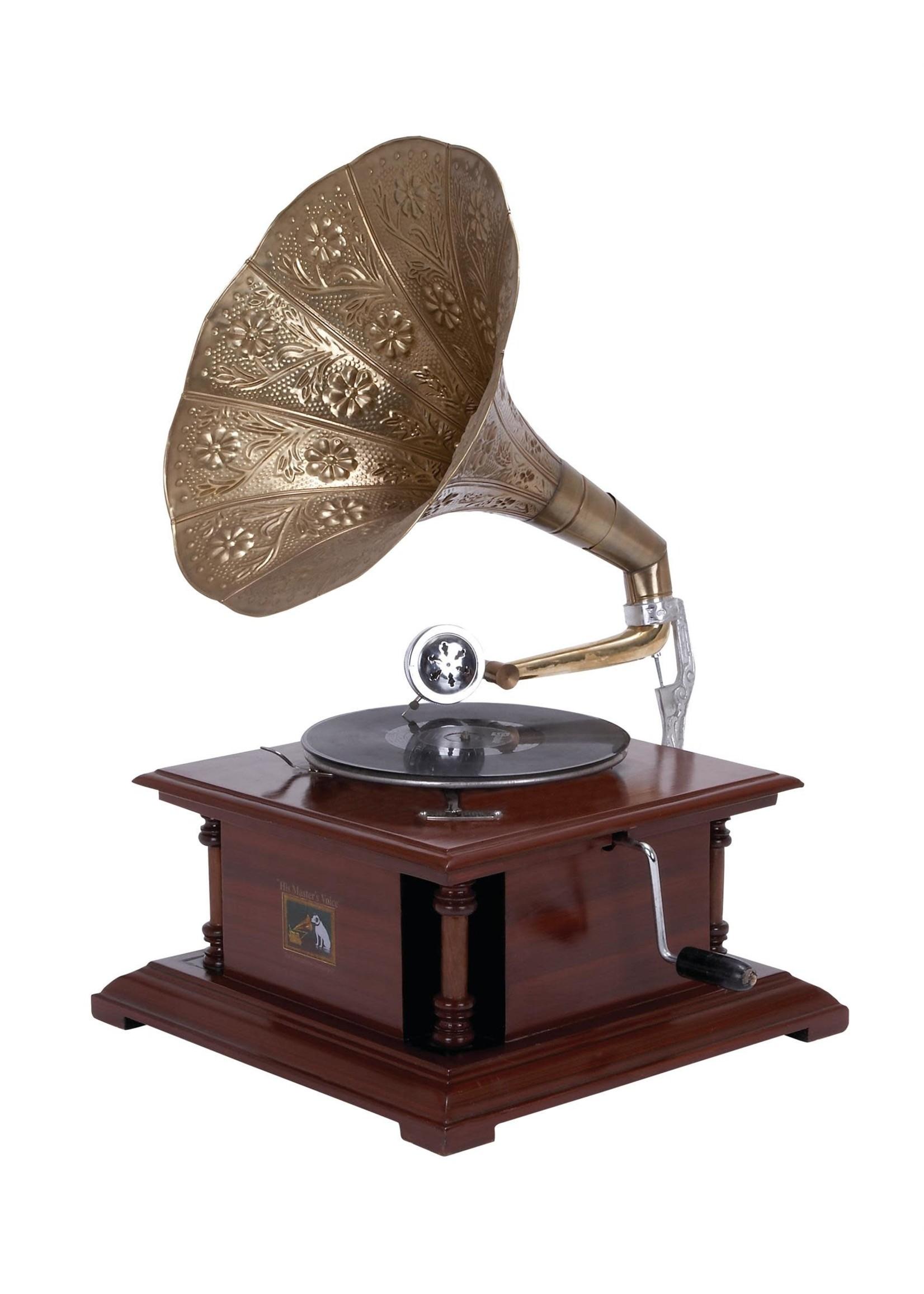 UMA Enterprises Metal Gramophone