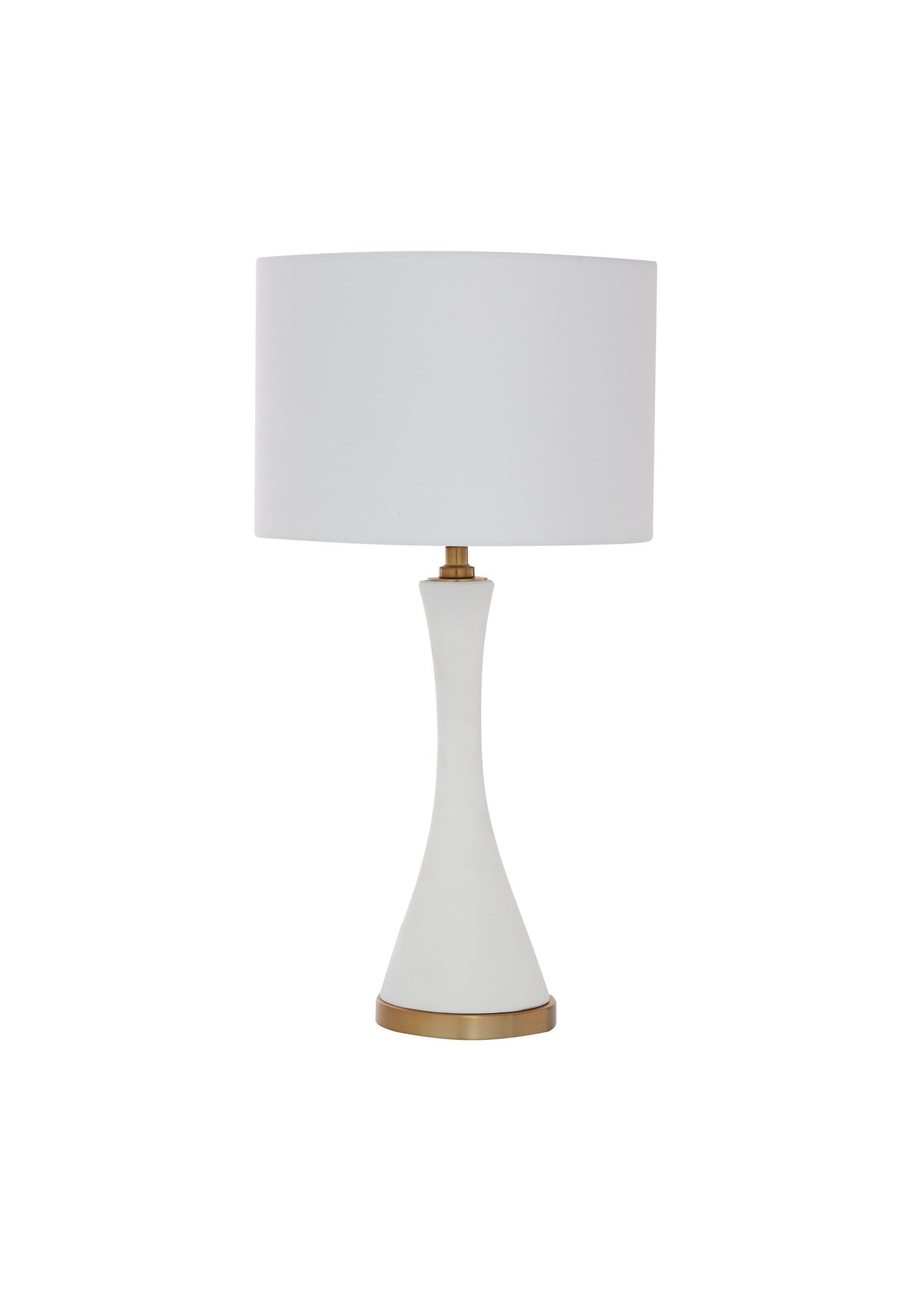UMA Enterprises Metal Cement Table Lamp