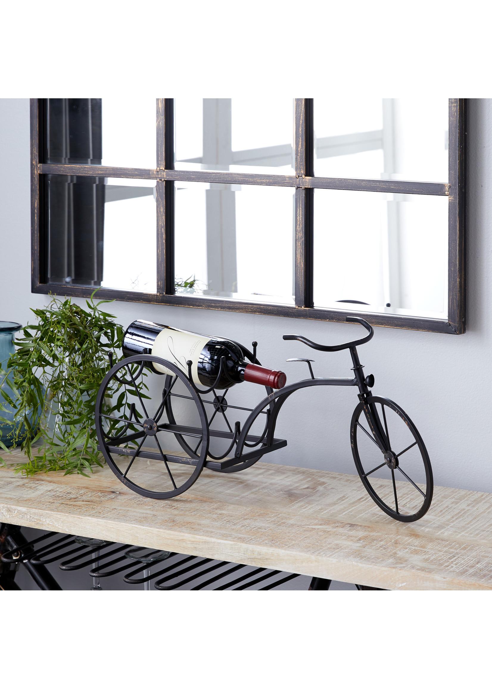 UMA Enterprises Metal Bicycle Wine Holder