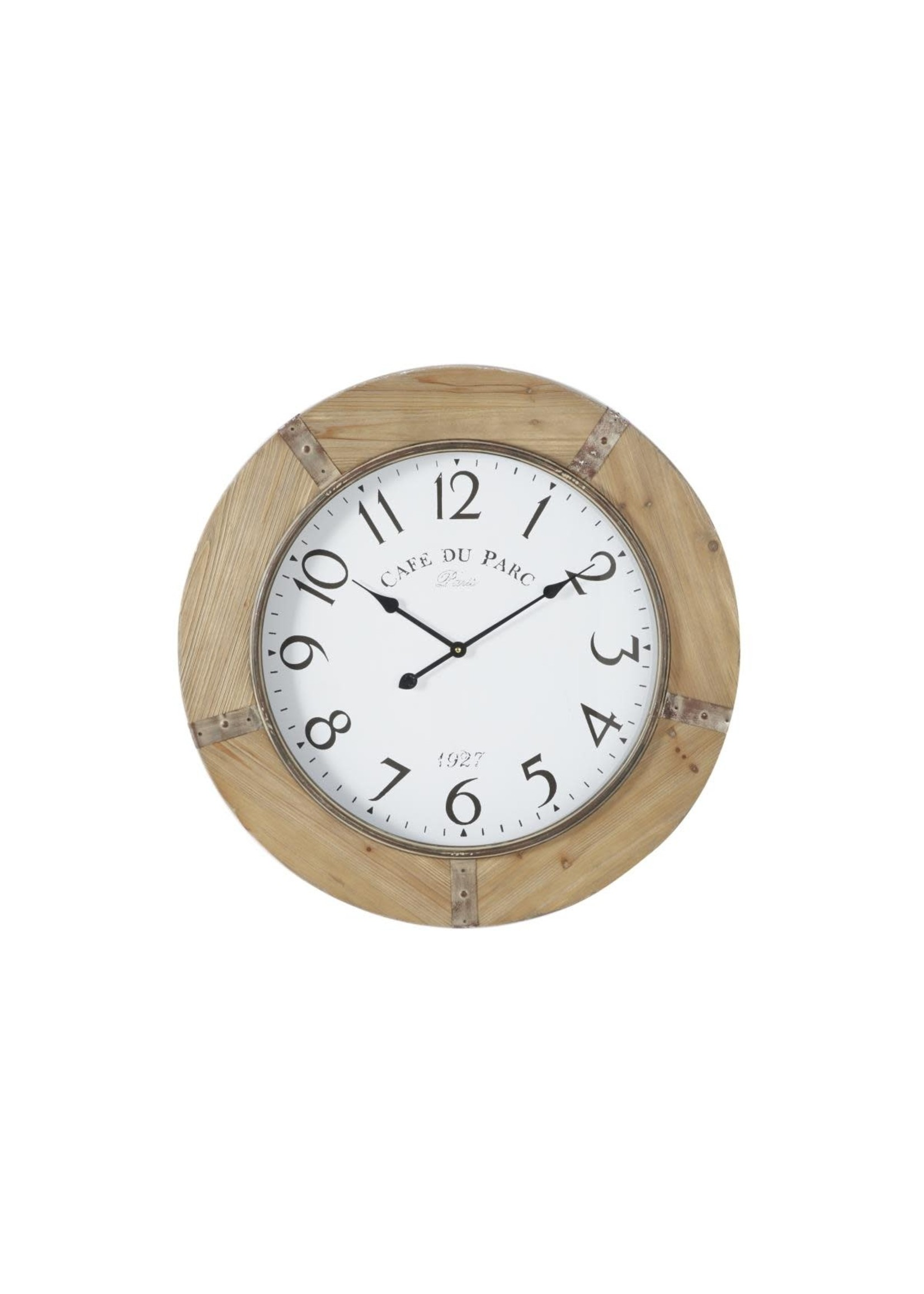 UMA Enterprises Wood Wall Clock