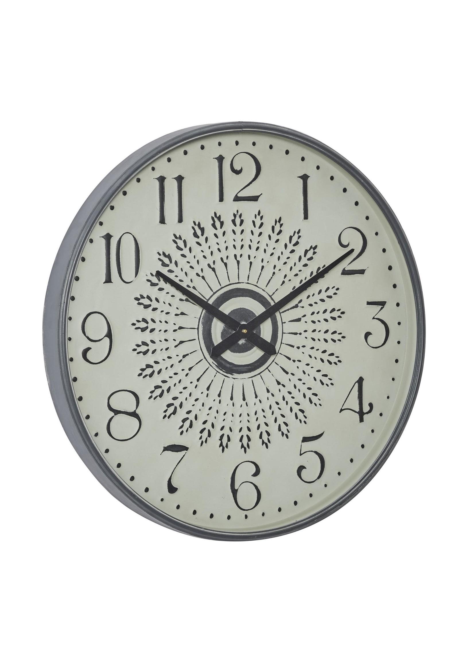 UMA Enterprises Metal Wall Clock