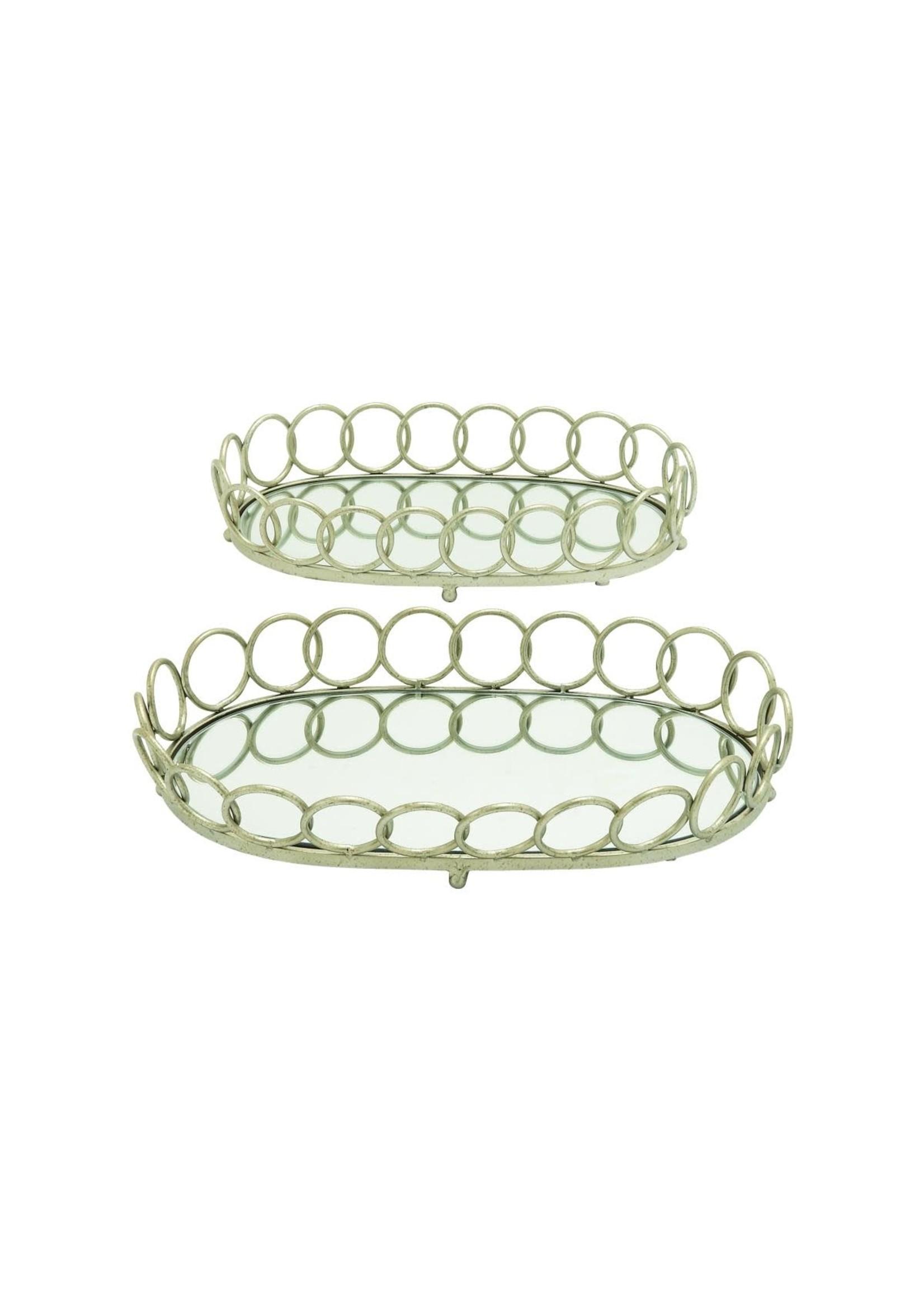 UMA Enterprises Metal Glass Tray - Large