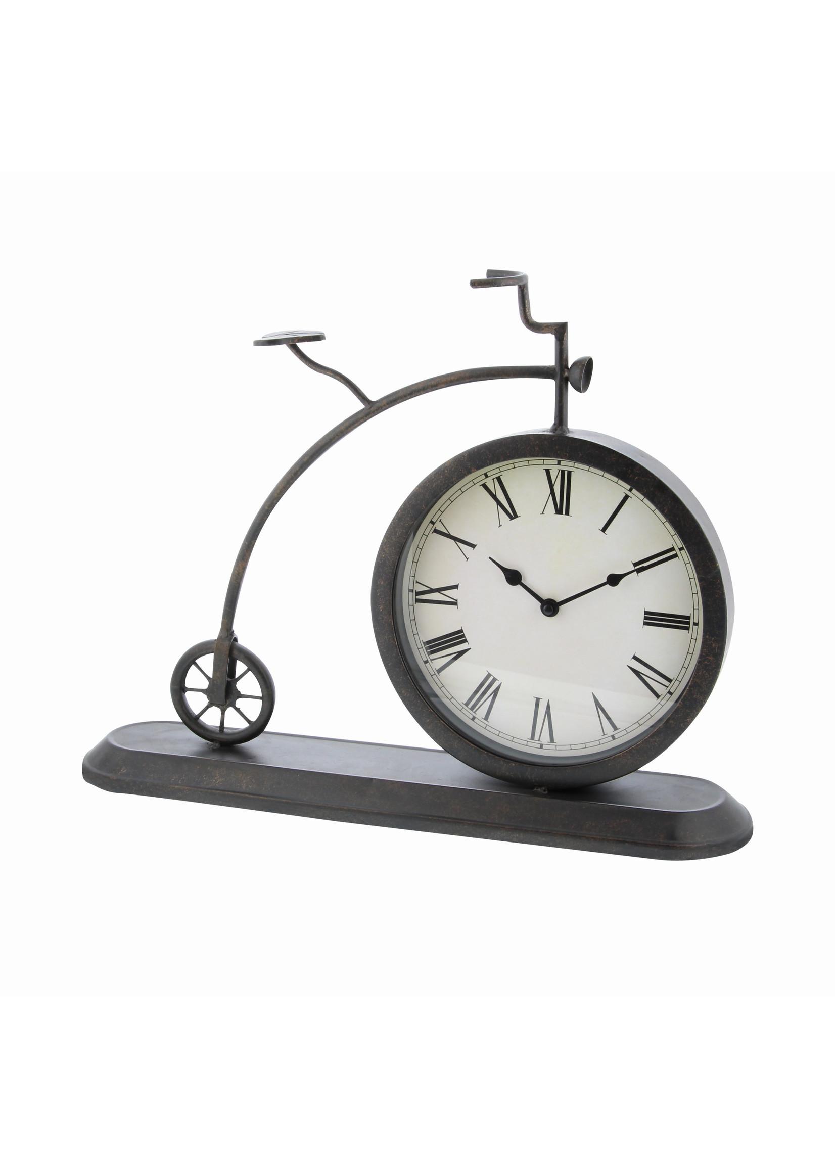 UMA Enterprises Metal Bicycle Clock