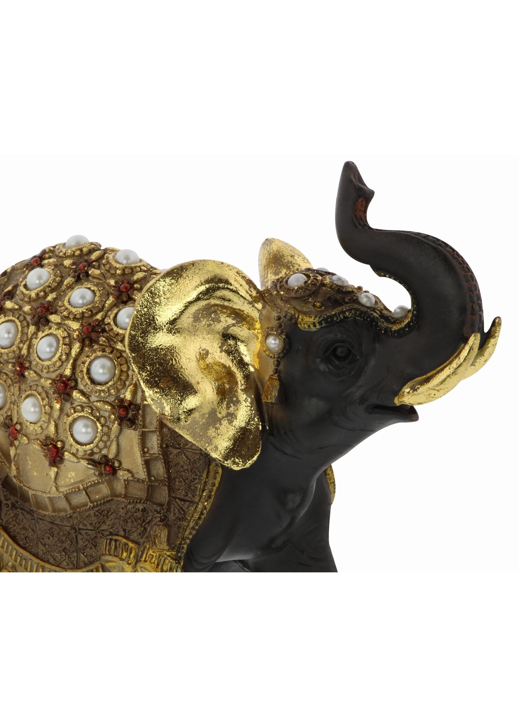 UMA Enterprises Polystone Elephant Set/3
