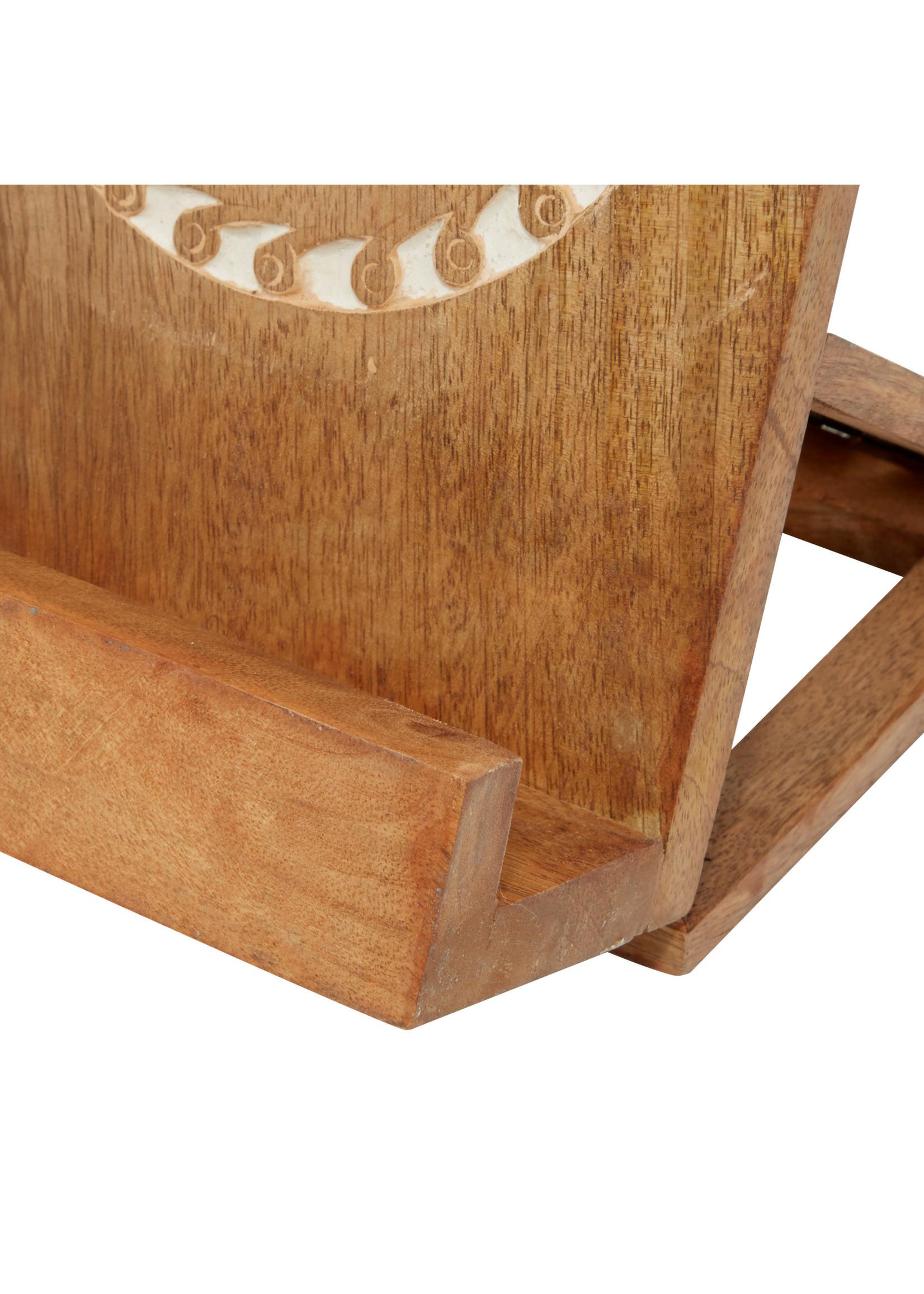 UMA Enterprises Wood Book Holder - Natural