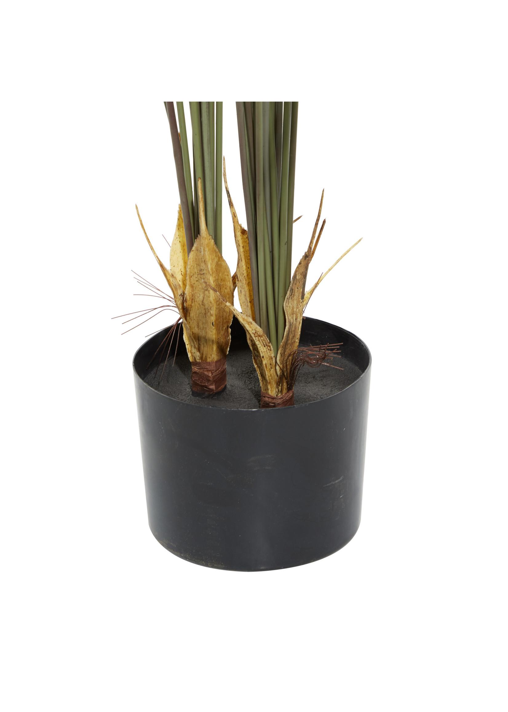 UMA Enterprises Artificial Kwai Leaves in Pot