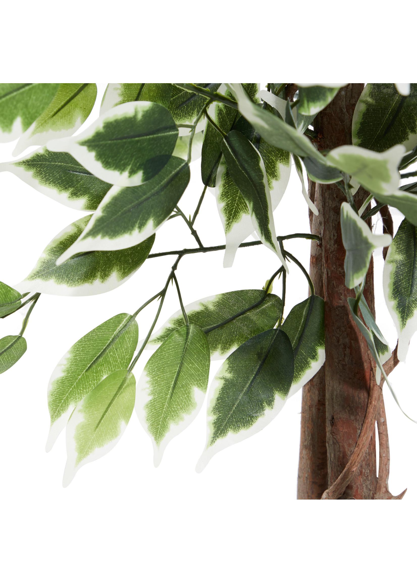 UMA Enterprises Artificial Ficus Tree in Pot