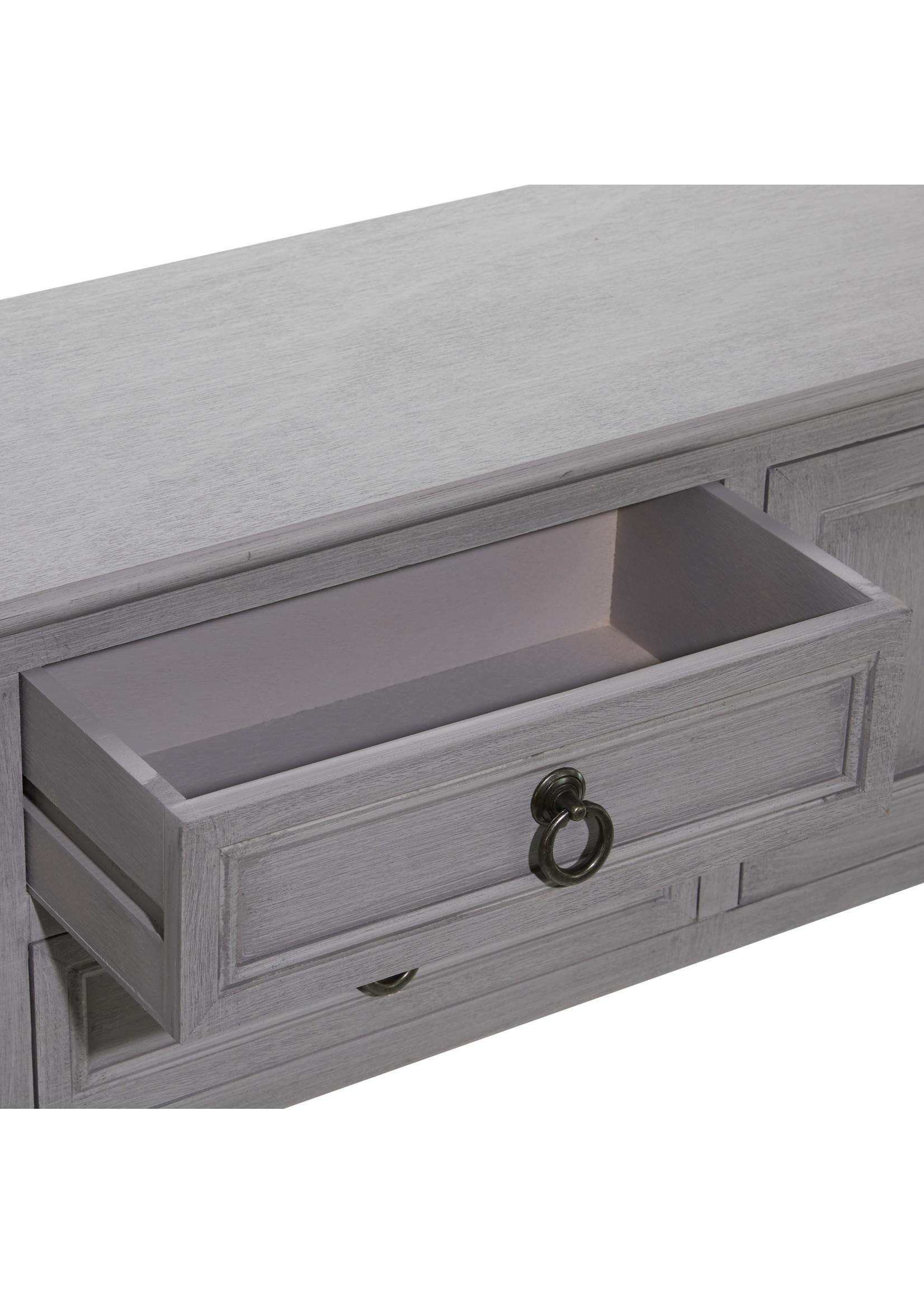 UMA Enterprises UMA Wood Console Table 47X32
