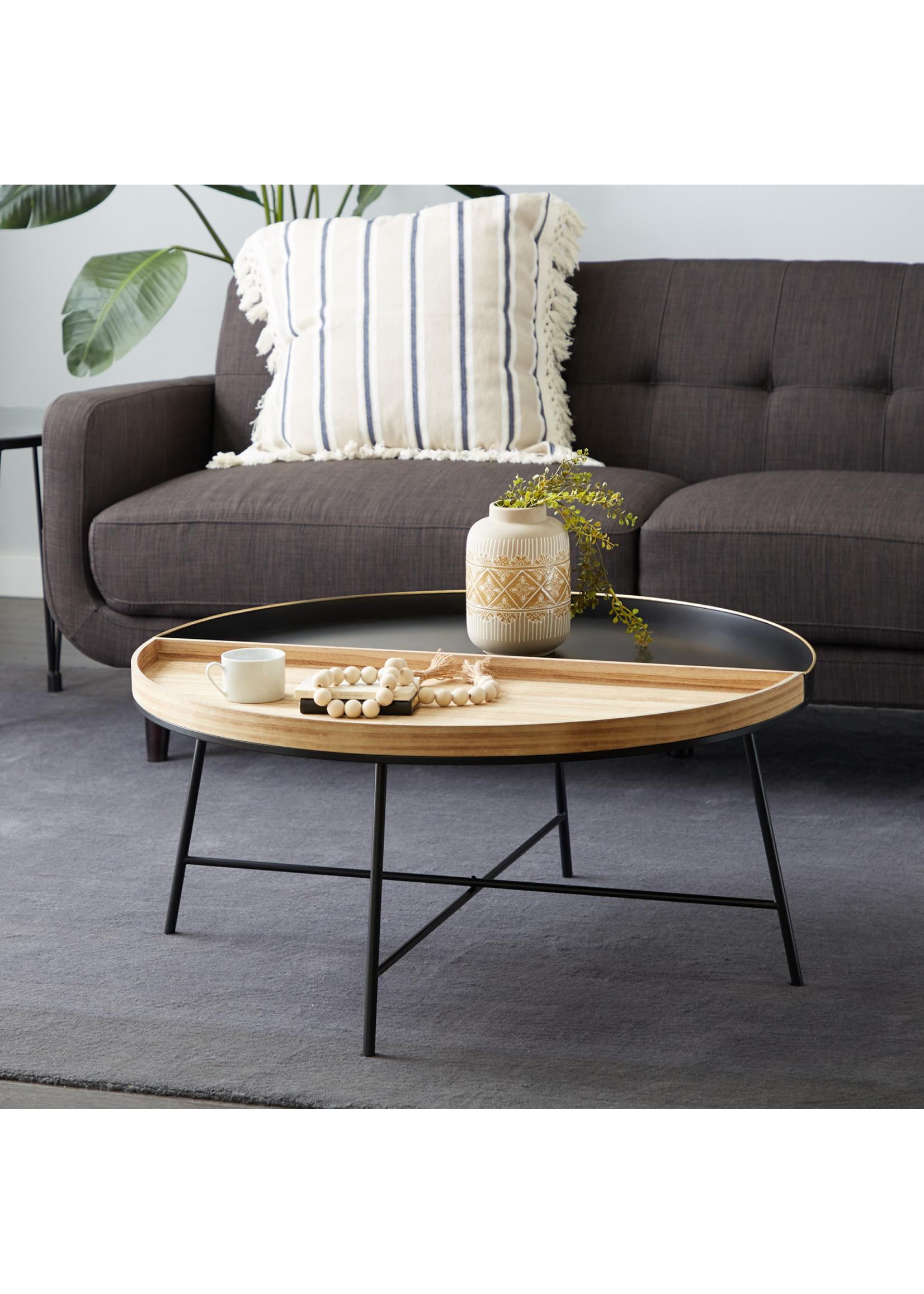 UMA Enterprises UMA Wood Metal Coffee Table