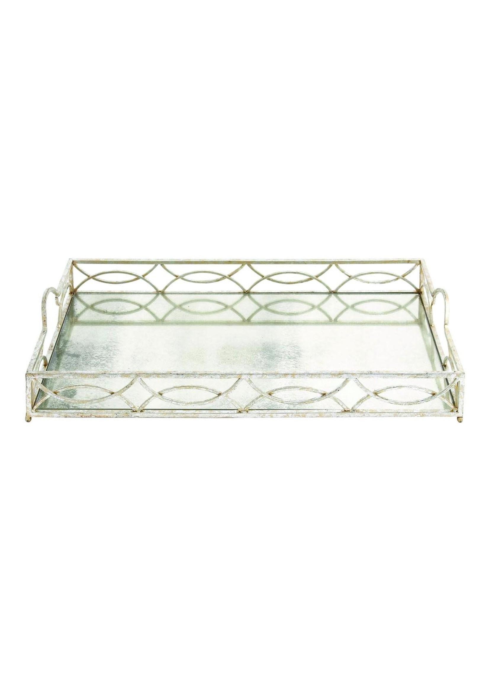 UMA Enterprises Metal Mirror Tray