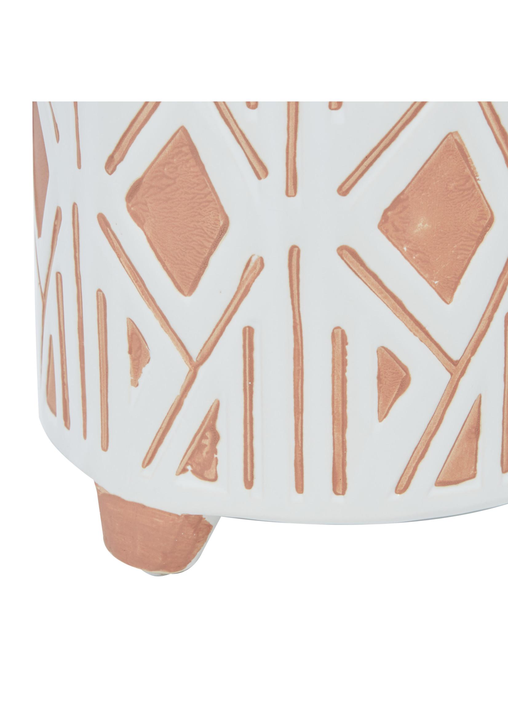 UMA Enterprises Ceramic Footed Planter - Large