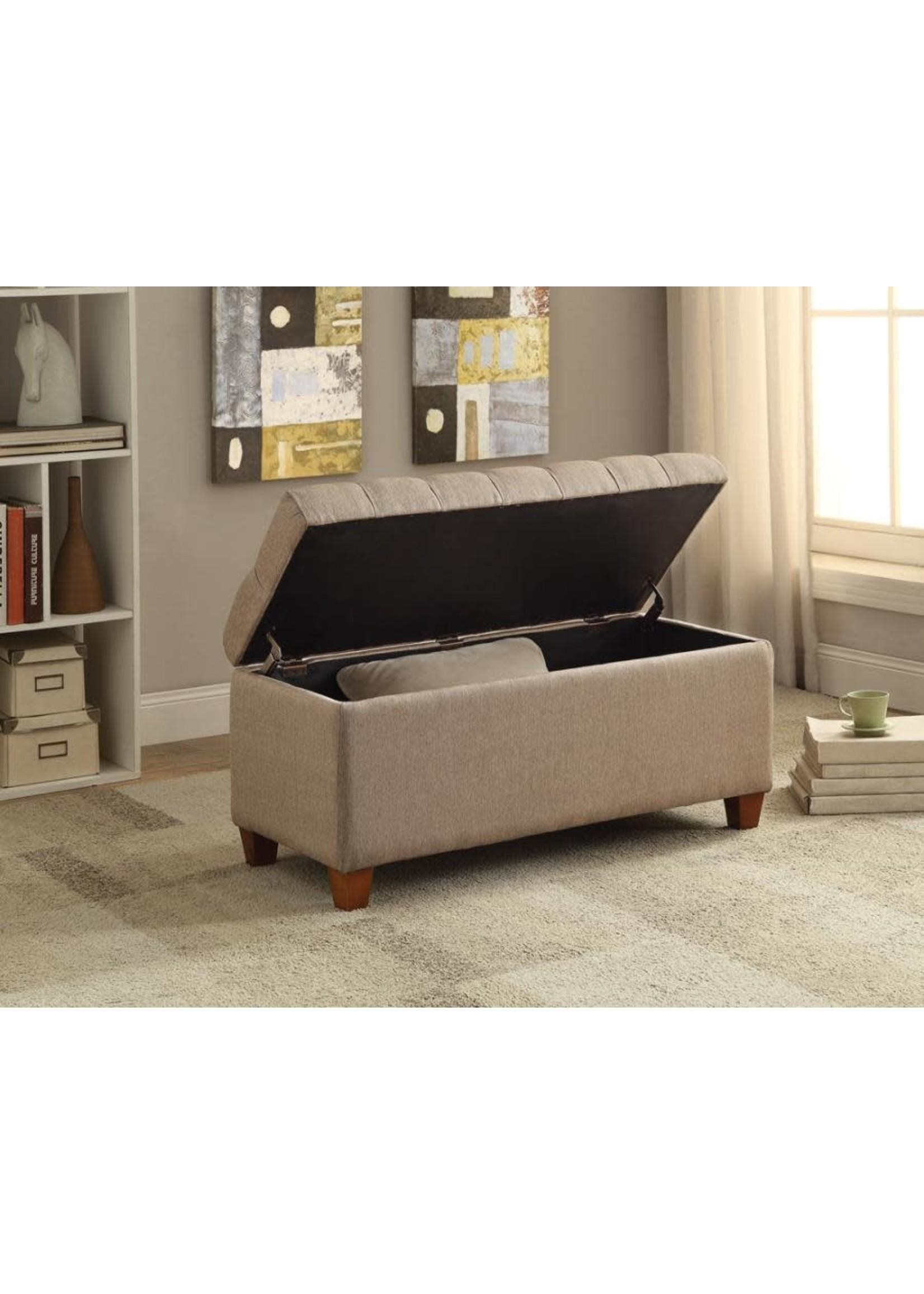 Coaster Furniture COASTER Storage Bench Taupe
