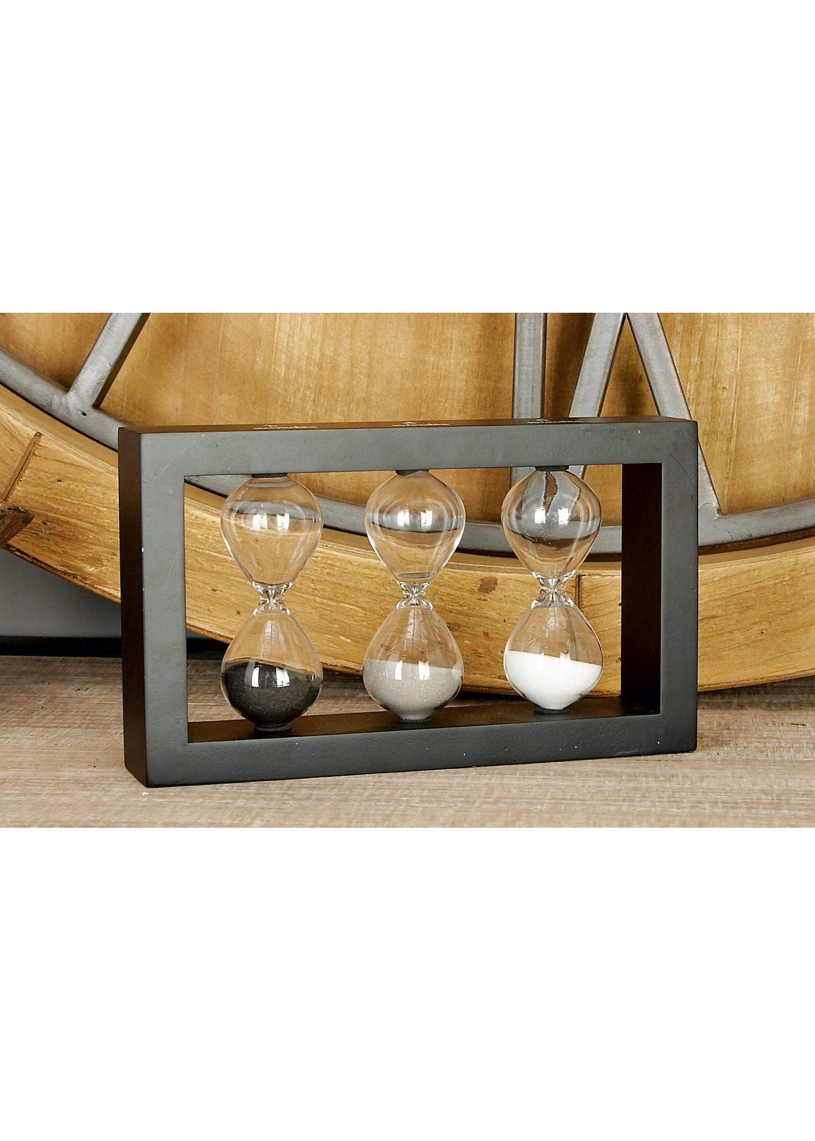 UMA Enterprises Wood Glass Sand Timer