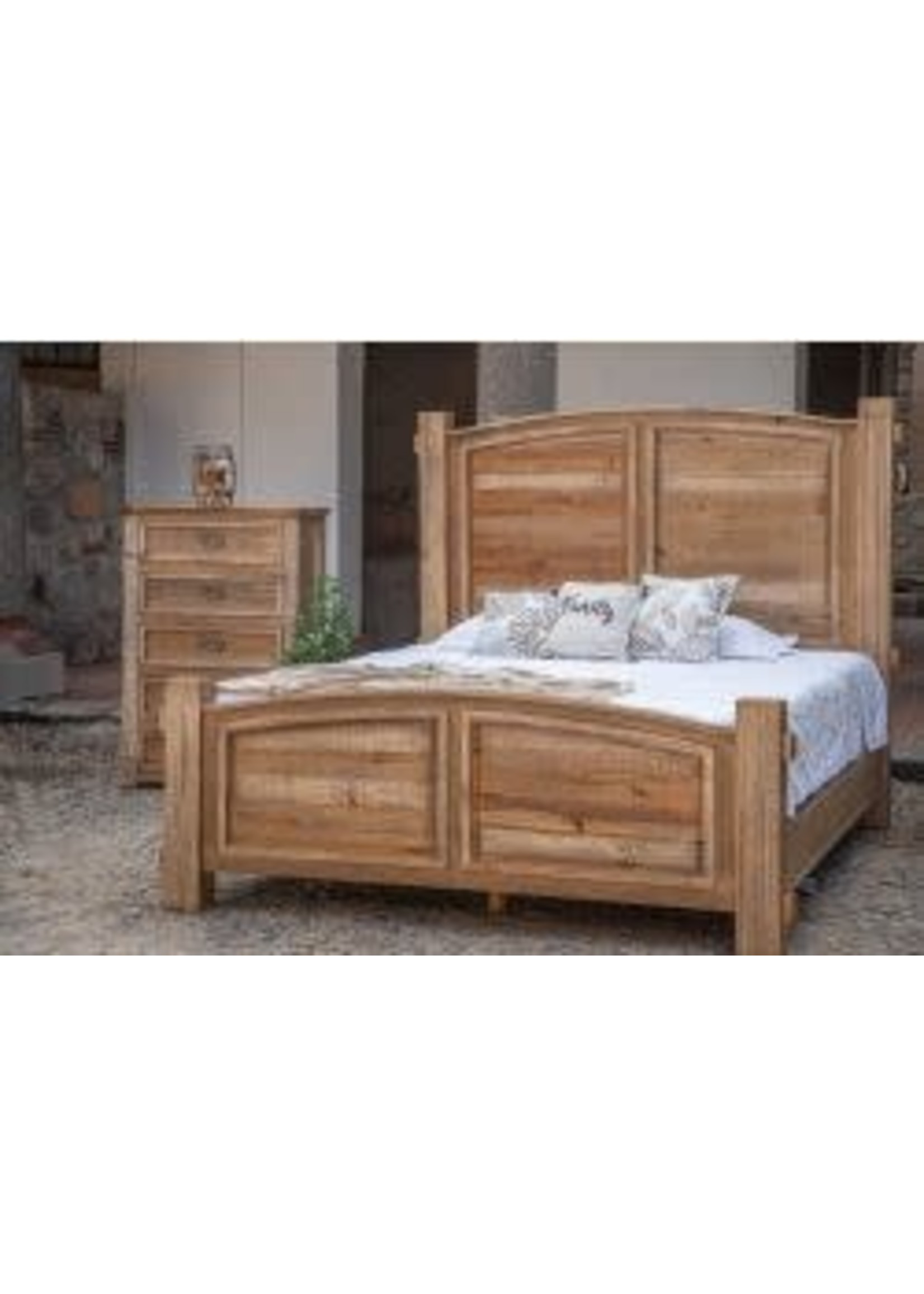 International Furniture Direct IFD KING Bed Frame
