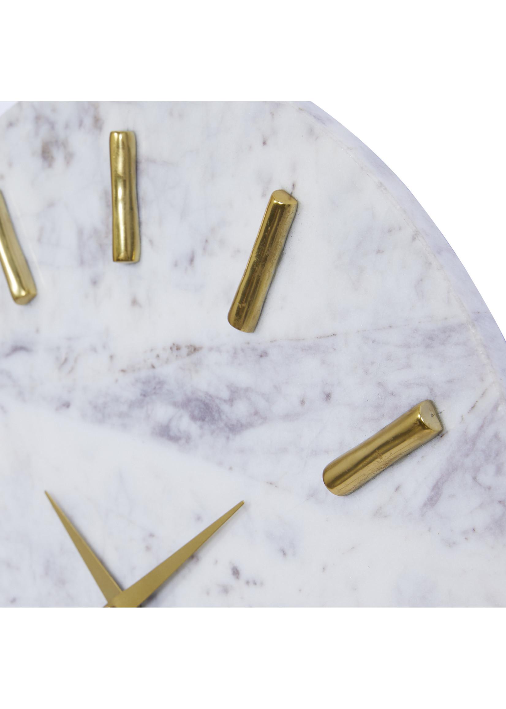 UMA Enterprises Marble Alum Wall Clock