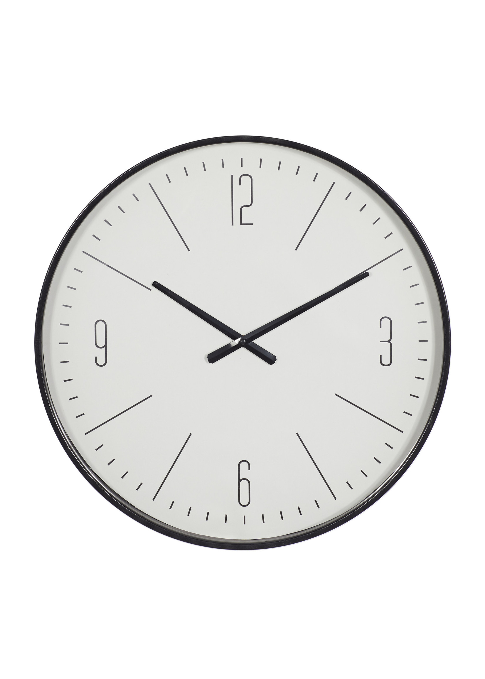 UMA Enterprises Metal Wall Clock  - Black