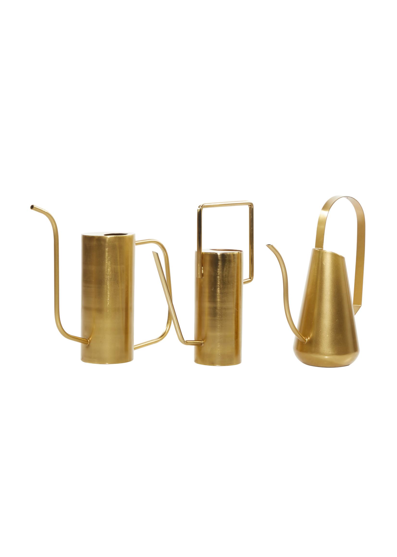 UMA Enterprises Metal Gold Watering Can Style 1